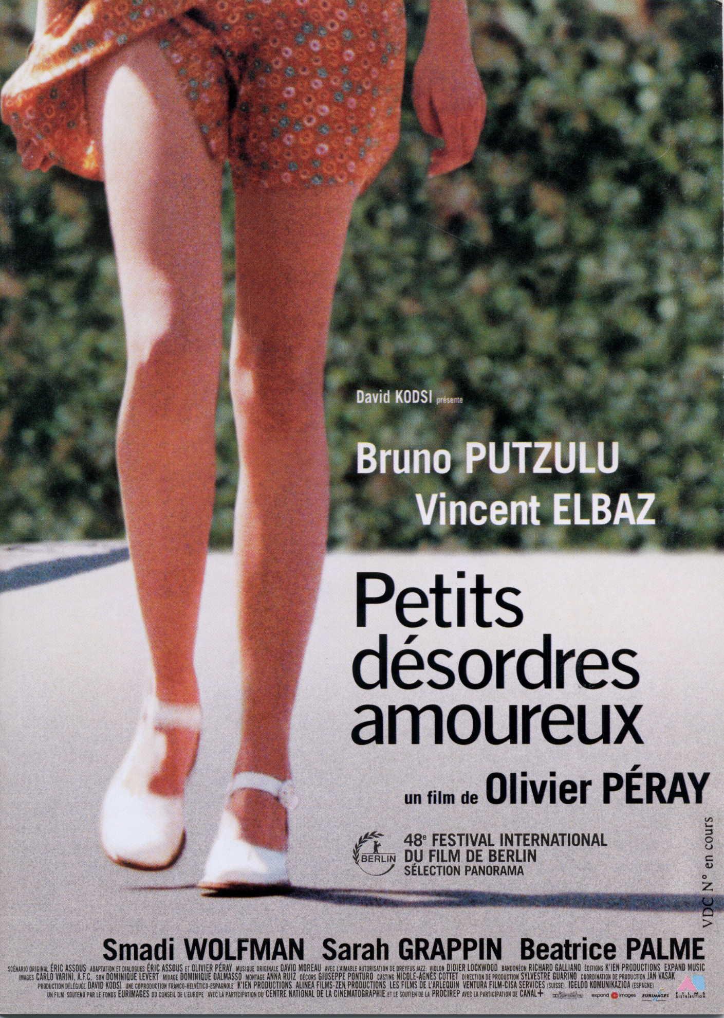 1998 PETITS DESORDRES AMOUREUX_AFFICHE