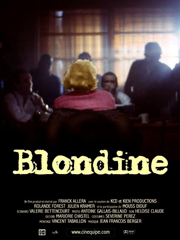 Blondine-affiche