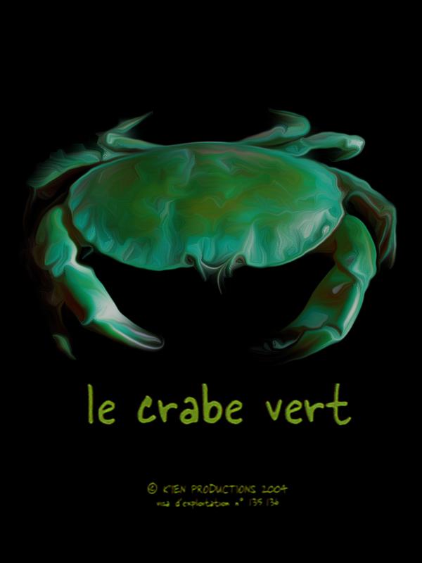 le-crabe-vert-affiche