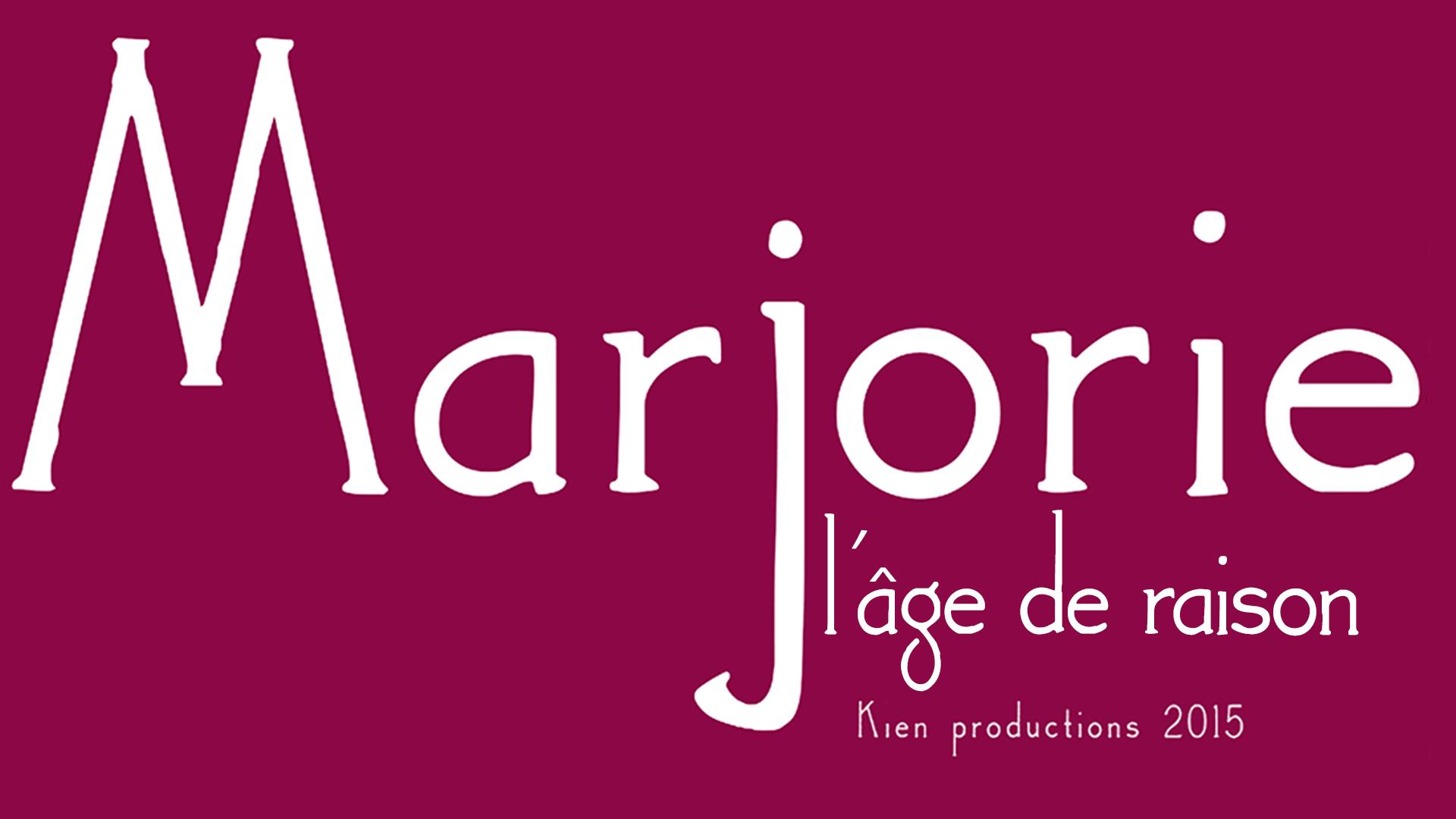 TITRE MARJORIE LAGE DE RAISON